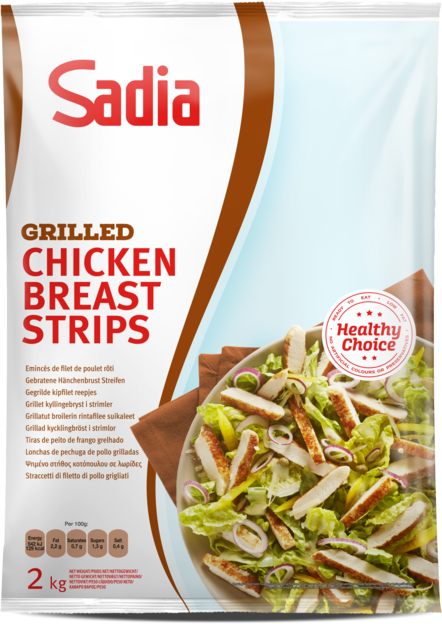 Product show grilled chickenbreaststrips
